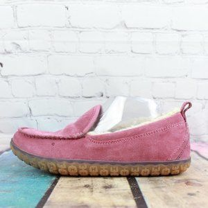LL BEAN Lined Mountain Moccasins Slipper Size 9 M